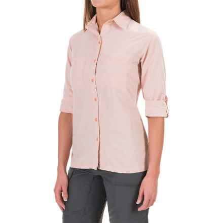 Sunday Afternoons Oasis Shirt - UPF 50+, Long Sleeve (For Women) in Coral - Closeouts