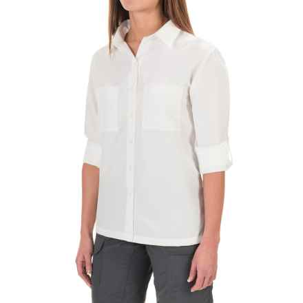 Sunday Afternoons Oasis Shirt - UPF 50+, Long Sleeve (For Women) in White - Closeouts