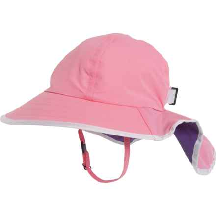 Sunday Afternoons Pink-Grape Play Hat - UPF 50+ (For Girls) in Pink/Grape - Closeouts