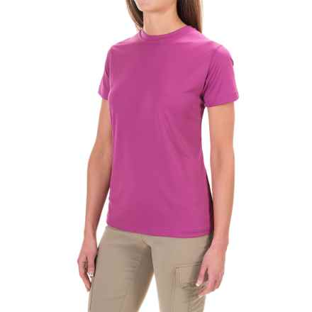 Sunday Afternoons Radiant T-Shirt - UP 50+, Short Sleeve (For Women) in Dahlia - Closeouts