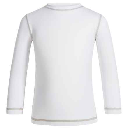 Sunday Afternoons Radiant T-Shirt - UPF 50+, Long Sleeve (For Little Boys) in White - Closeouts