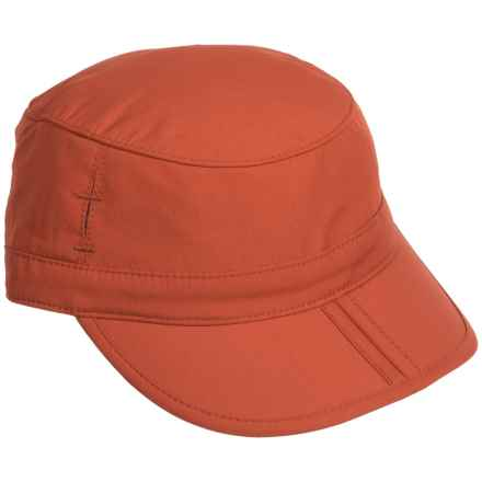 Sunday Afternoons Sun Tripper Cap - UPF 50+ (For Little and Big Kids) in Burnt Orange - Closeouts