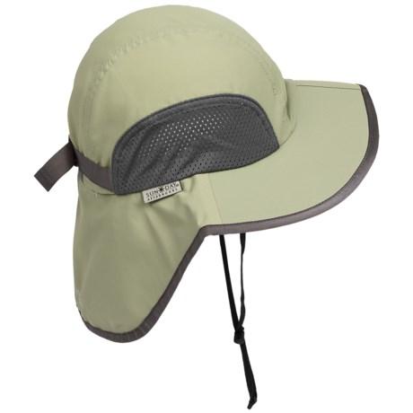 Sunday Afternoons Traveler Sun Hat - UPF 50+ (For Men and Women) in Sagebrush
