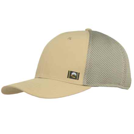 Sunday Afternoons UV Trucker Hat - UPF 50+ (For Men and Women) in Khaki - Closeouts