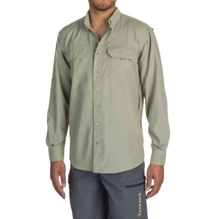 Sunday Afternoons Voyager Shirt - UPF 50+, Long Sleeve (For Men) in Tundra - Closeouts