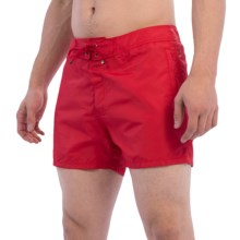 Sundek Rainbow Band Vista Swim Trunks (For Men) in Red - Closeouts