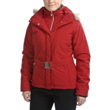 Sunice Abby Jacket - Insulated, Faux-Fur Trim, Mid Length (For Women) in Garnet - Closeouts