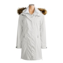 Sunice Anita Jacket - Insulated, Raccoon-Fur Trim (For Women) in Cameo - Closeouts