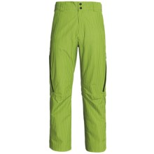 Sunice Atlantis Gore-Tex® Snow Pants - Waterproof, Insulated (For Men) in Lime Stripe - Closeouts