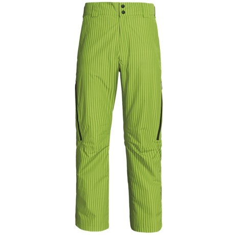 Sunice Atlantis Gore-Tex® Snow Pants - Waterproof, Insulated (For Men) in Lime Stripe