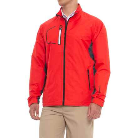 Sunice Collins Windwear Jacket (For Men) in Scarlet Flame/Charcoal - Closeouts