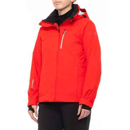 Sunice Elevation Mirage Ski Jacket - Waterproof, Insulated (For Women) in Crimson