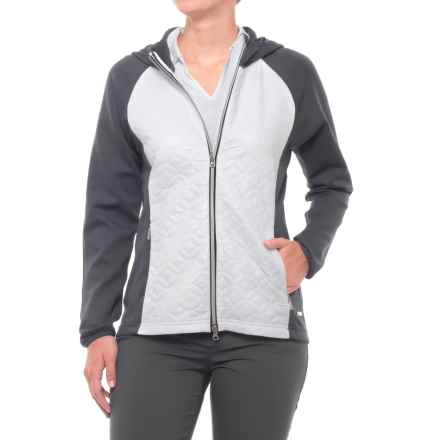 Sunice Elsa Thermal Jacket - Insulated (For Women) in Charcoal/Pure White - Closeouts
