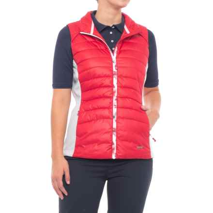 Sunice Finley Thermal 3M® Stretch Vest - 600 Fill Power (For Women) in Cherry/Oyster - Closeouts