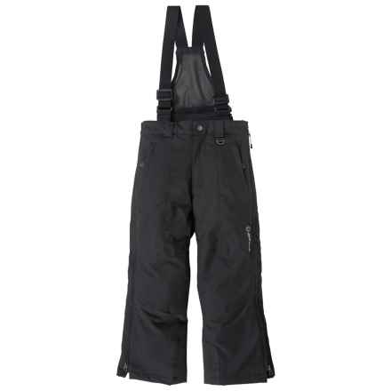 Sunice Full Side-Zip Technical Ski Pants - Waterproof, Insulated (For Big Boys) in Black - Closeouts