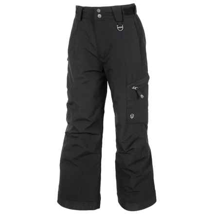 Sunice Laser Tech Ski Pants - Waterproof, Insulated (For Big Boys) in Black - Closeouts