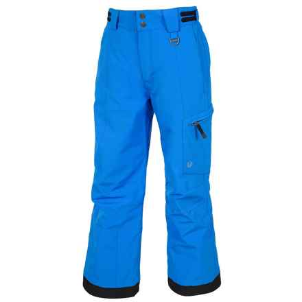 Sunice Laser Tech Ski Pants - Waterproof, Insulated (For Big Boys) in Bright Blue - Closeouts