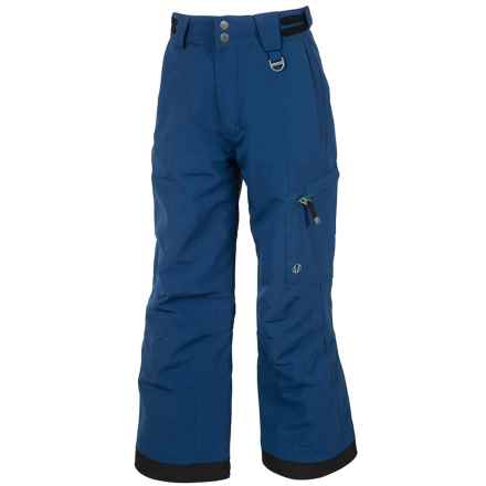 Sunice Laser Tech Ski Pants - Waterproof, Insulated (For Big Boys) in Midnight - Closeouts
