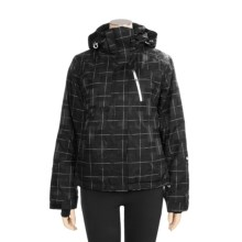 Sunice Naquita Jacket - Waterproof, Insulated (For Women) in Black Windowpane - Closeouts