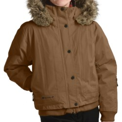 Sunice Niche Bomber Jacket - Insulated (For Women) in Brown