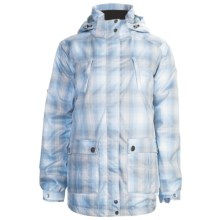 Sunice Ruby Jacket - Insulated (For Women) in Blue Plaid - Closeouts