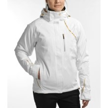 Sunice Suprima Stretch Gore-Tex® Jacket - Waterproof, Insulated (For Women) in White/Gold - Closeouts