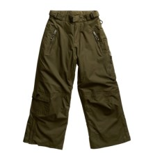 Sunice Tarmac Snow Pants - Insulated (For Youth) in Camp - Closeouts