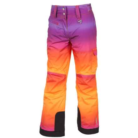 Sunice Zoe Tech Ski Pants - Waterproof, Insulated (For Big Girls) in African Violet Ombre - Closeouts