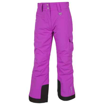 Sunice Zoe Tech Ski Pants - Waterproof, Insulated (For Big Girls) in African Violet - Closeouts