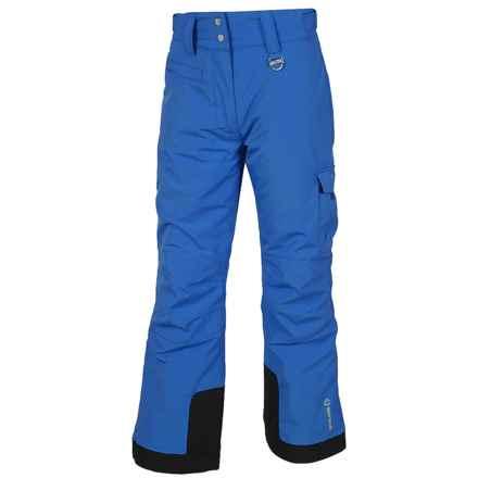 Sunice Zoe Tech Ski Pants - Waterproof, Insulated (For Big Girls) in Royal - Closeouts