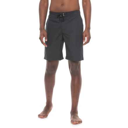 Sunseeker Woven Boardshorts (For Men) in Black - Closeouts