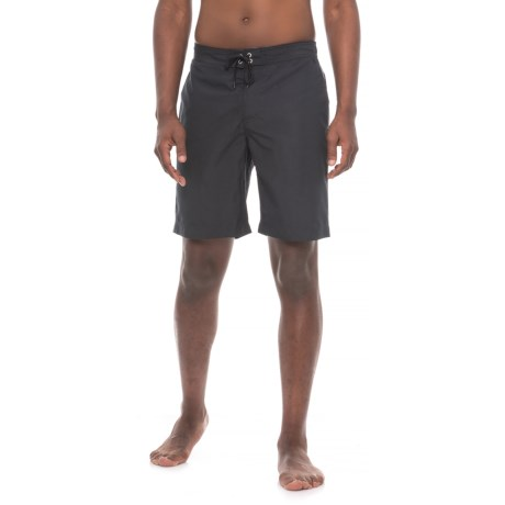 Sunseeker Woven Boardshorts (For Men) in Black