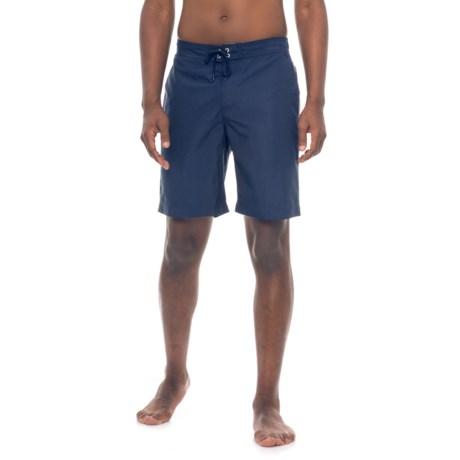 Sunseeker Woven Boardshorts (For Men) in Navy