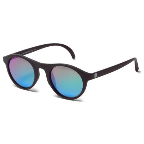 Sunski Alta Sunglasses in Black Emerald