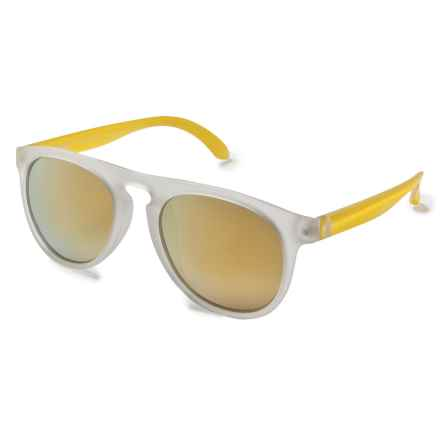 Sunski Foxtails Sunglasses - Polarized in Frosted/Yellow - Closeouts