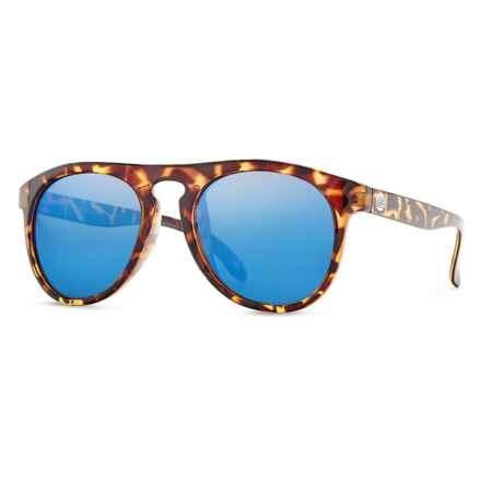 Sunski Foxtails Sunglasses - Polarized in Tortoise/Aqua - Closeouts