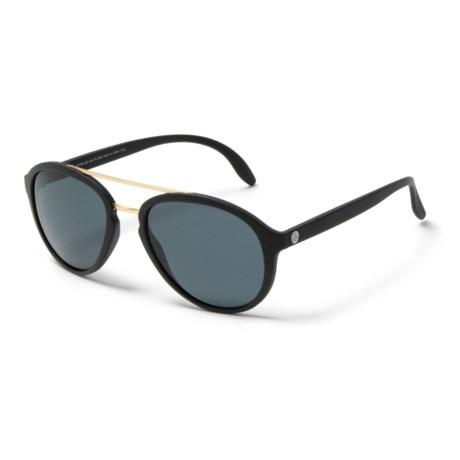 Sunski Plover Sunglasses - Polarized in Black Slate