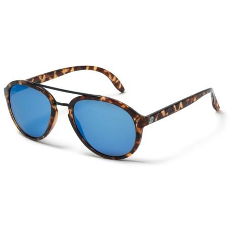 Sunski Plover Sunglasses - Polarized in Tortoise Aqua