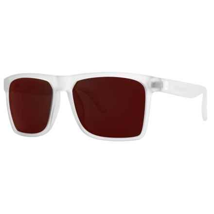 Sunski Taravals Sunglasses - Polarized in Frosted/Lava - Closeouts