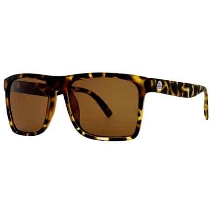 Sunski Taravals Sunglasses - Polarized in Tortoise/Amber - Closeouts