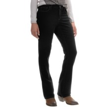 Super Stretch Bootcut Jeans (For Women) in Black - 2nds