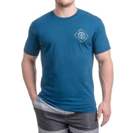 Superbrand Peyote T-Shirt - Short Sleeve (For Men) in Cool Blue - Closeouts