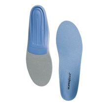 Superfeet Blue Trim-to-Fit Insoles - Low/Medium Arch (For Men And Women) in See Photo