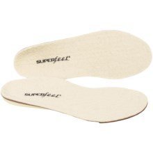 Superfeet Merino White Support Insoles - Pair (For Men and Women) in Merino White