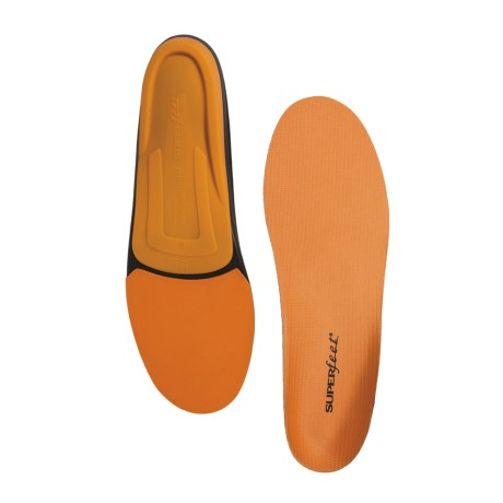 Superfeet Orange Trim-to-Fit Insoles - Medium/High Arch (For Men)