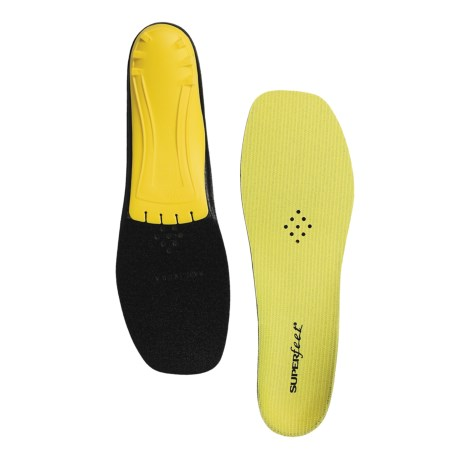 Superfeet Yellow Trim-to-Fit Insoles - Low/Medium Arch (For Men and Women) in See Photo