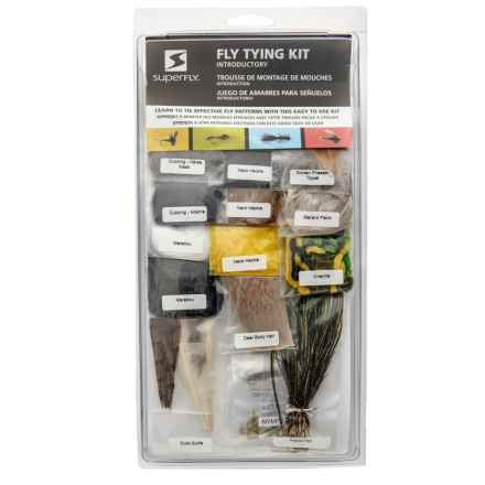 Superfly Introductory Fly Tying Kit in See Photo - Closeouts