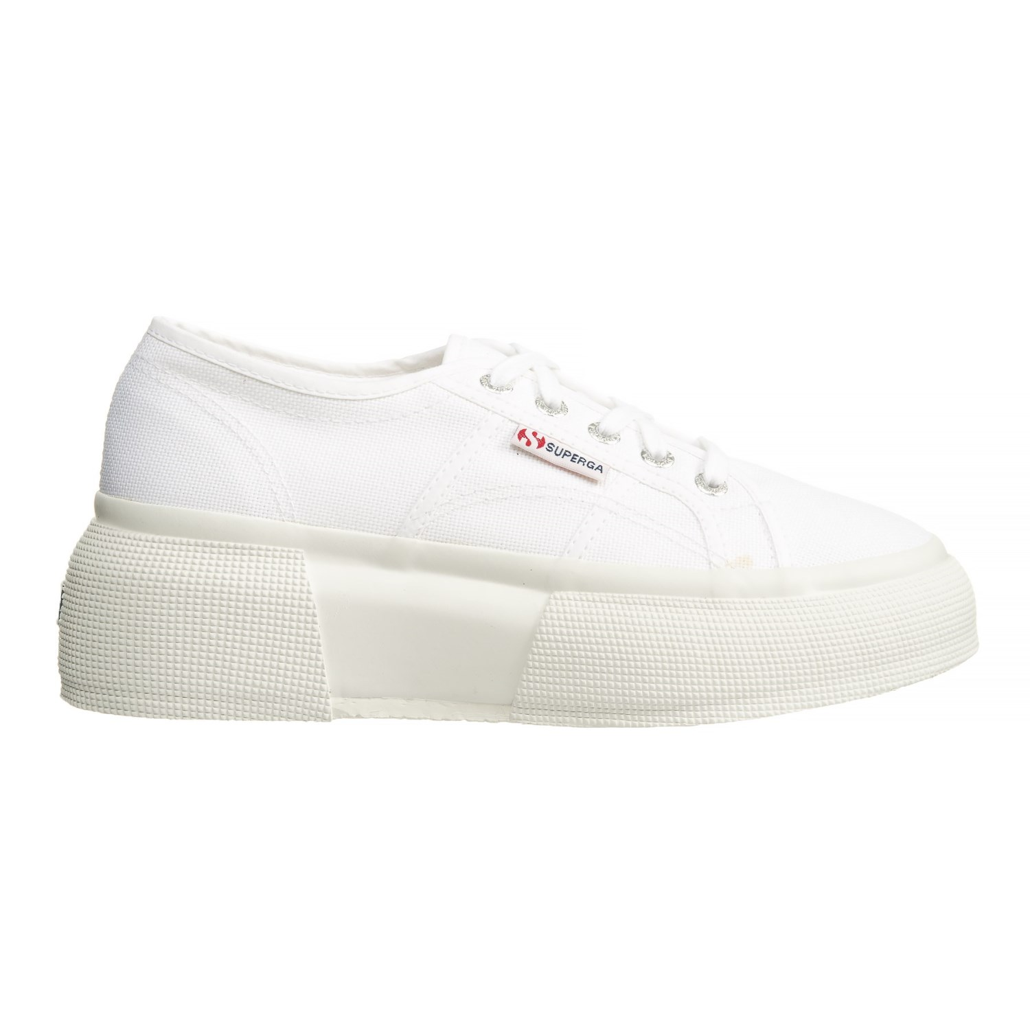 Superga Women's Sneakers Basic Canvas Sneakers White