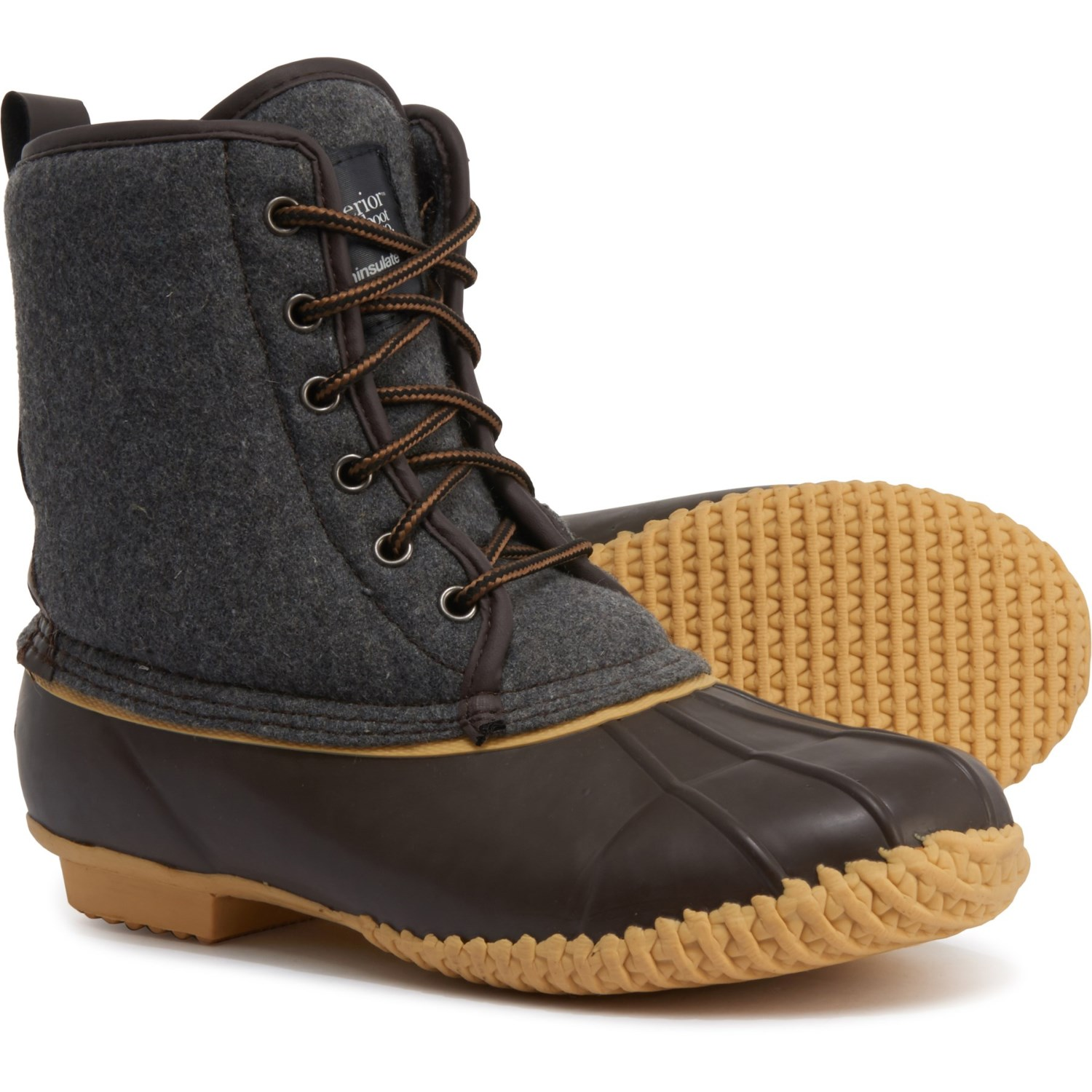 SUPERIOR BOOT CO. Felt Duck Boots (For