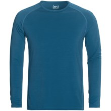 super.natural Base Top 175 - Long Sleeve (For Men) in Shadow Blue - Closeouts